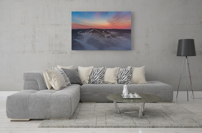 large format canvas print